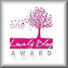 One Lovely Blog Award 09/22/12